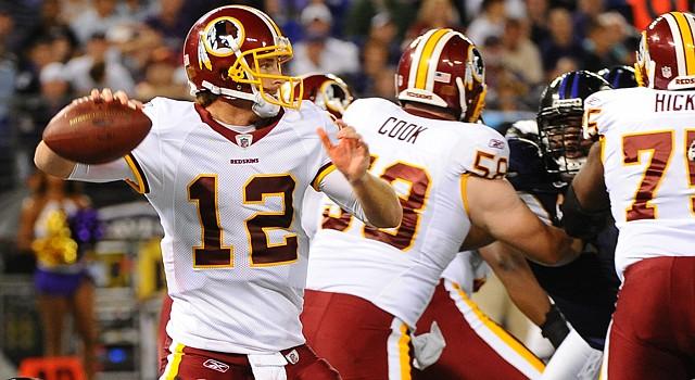 Los Redskins de Washington dejan su récord en 3-3.
