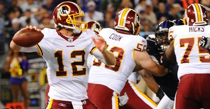 Griffin III tiene un regreso triunfal con los Redskins