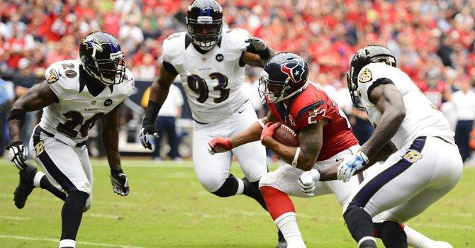 Derrotas para Ravens y Redskins en la NFL