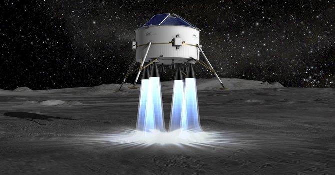 Astrium envía aparato no tripulado a la luna