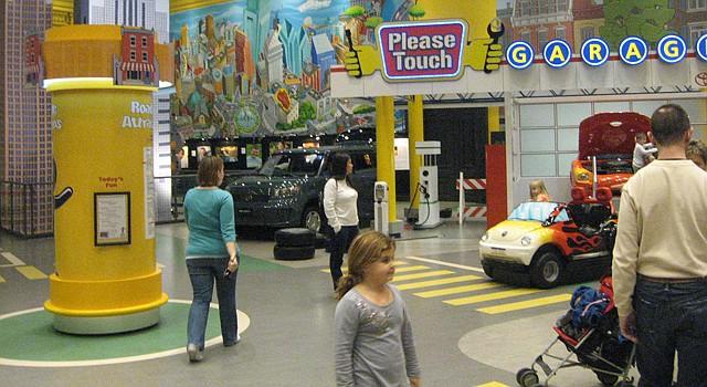 El Please Touch Museum de Philadelphia es fascinante para grandes y chicos.