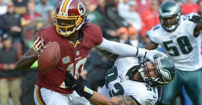Los Redskins agravan la crisis del Philadelphia Eagle