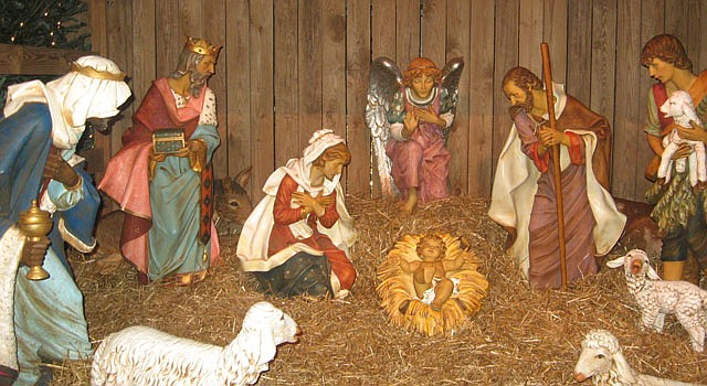 El nacimiento es una de las decoraciones típicas del hogar en la Navidad.