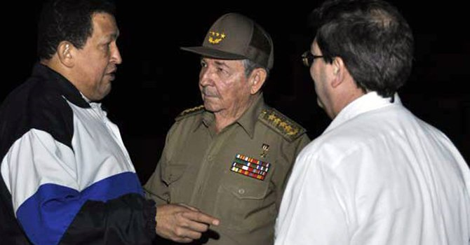 Chávez propone a Maduro como sucesor