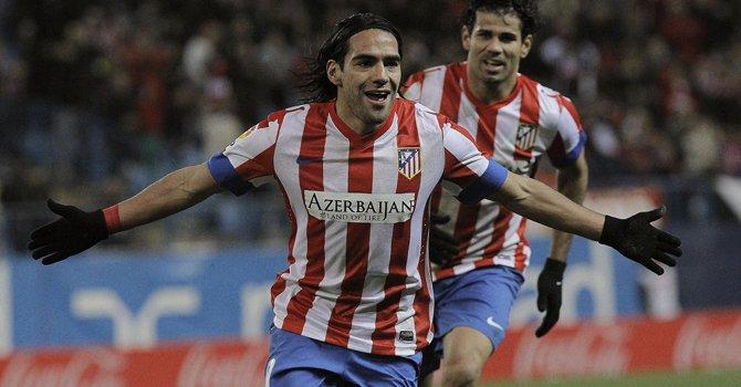 La Liga: Falcao sigue inmenso con el Atlético