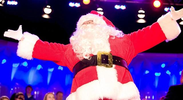 Santa Claus es uno de los personajes favoritos en las decoraciones navideñas.