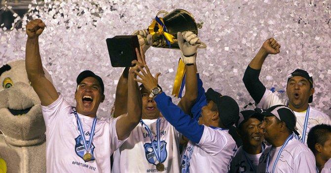 Comunicaciones campeón de Guatemala