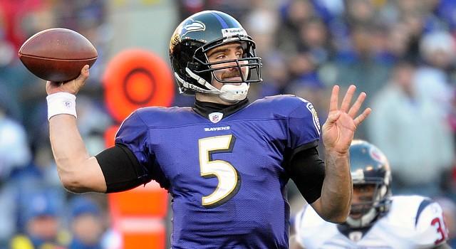 El mariscal de campo de los Ravens de Baltimore, Joe Flacco, encabezará la ofensiva de su equipo ante los favoritos Patriots de Nueva Inglaterra.