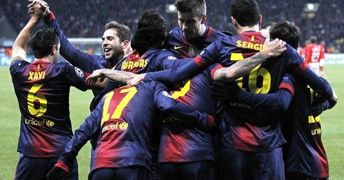 El Barcelona en dura prueba frente al Málaga