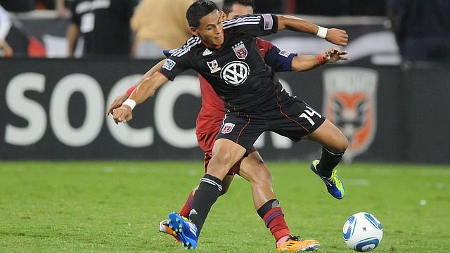 El hondureño Andy Najar dejó al D.C. United para jugar en el Anderlecht de Bélgica.