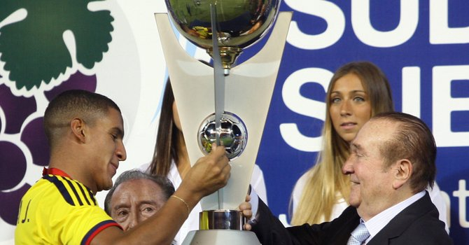 Colombia campeón del Sudamericano Sub-20