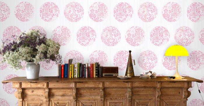 vuelve a la moda el papel pintado para paredes
