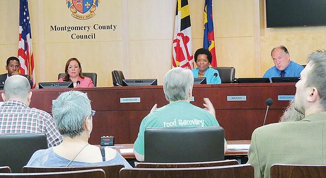 Sesión del Concejo del condado de Montgomery