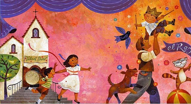 Una de las obras del ilustrador Rafael López