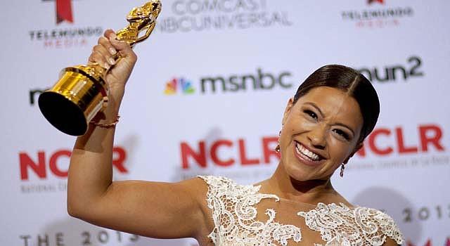 Gina Rodríguez fue una de las galardonadas en los ALMA el 27 de septiembre.