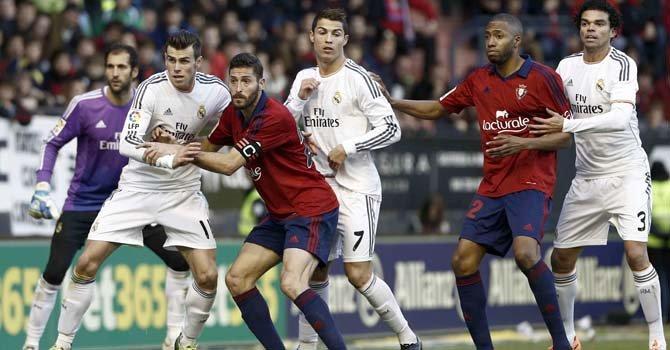 Real Madrid: un paso atrás