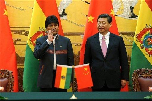 Bolivia lanza su primer satélite