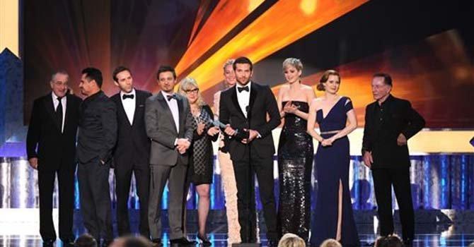 """""""American Hustle"""" gana máximo premio de los SAG"""