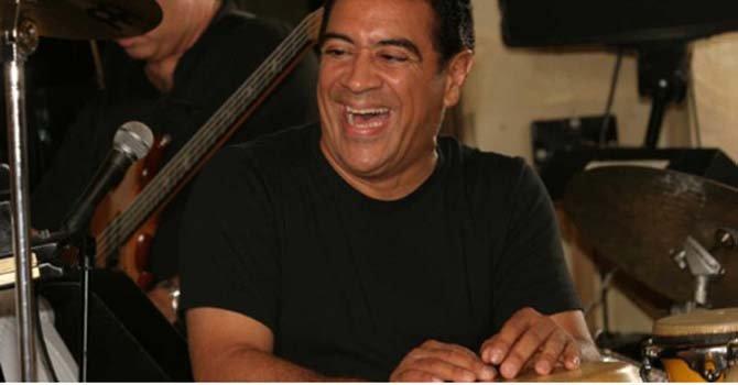 El rey de la percusión, Sammy Figueroa, llega al área