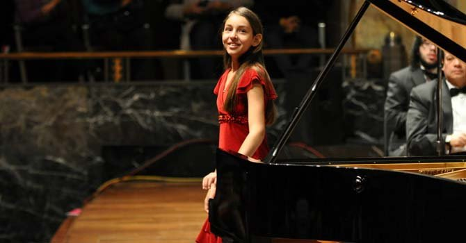 Mexicana de 11 años: una pianista prodigio