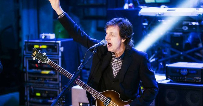 Paul McCartney se presentará en Petco Park