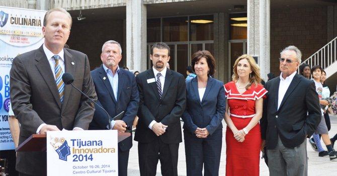 Plataforma Binacional, anuncian en San Diego, Tijuana Innovadora 2014