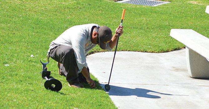 Inquietud y zozobra, causó noticia de que se hubieran encontradas navajas en un parque