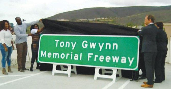 Llevará su nombre, Tony Gwynn se llamará tramo del I-15