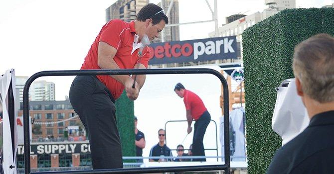 ¡Golf en Petco-Park!
