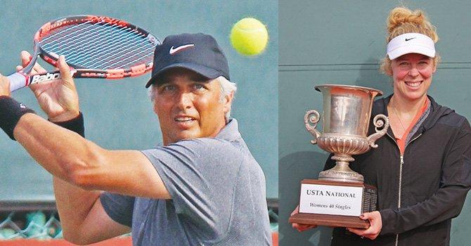 Triunfadores; frazier y Bujan se adjudican Torneo Nacional de Tenis, de EU