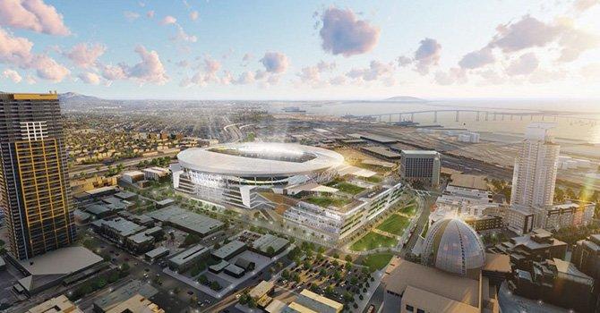 Firmas de apoyo para que San Diego Chargers se queden aquí; confirman nuevo proyecto de estadio