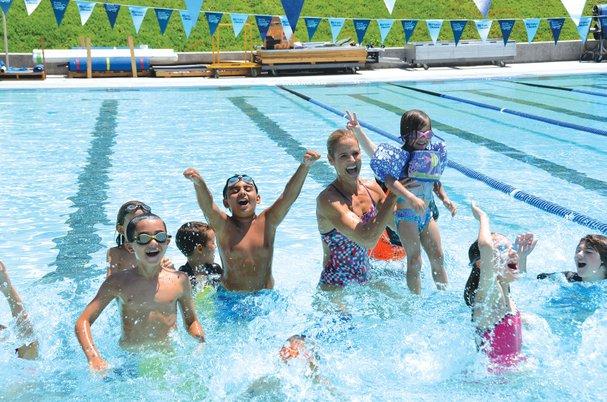 Los niños y el agua… asegúrese