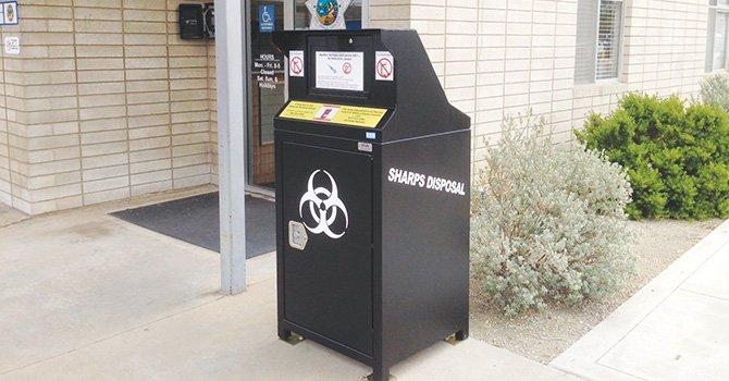 Instan al público reciclar agujas y otros objetos filosos