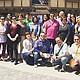 La Escuela Binacional de Espectadores del 2016 en el Old Globe Teatre en el Parque Balboa.  Foto Cortesía