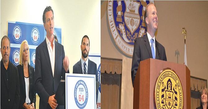 Newson y Faulconer llevarían delantera, entre los eventuales aspirantes a suceder a Jerry Brown
