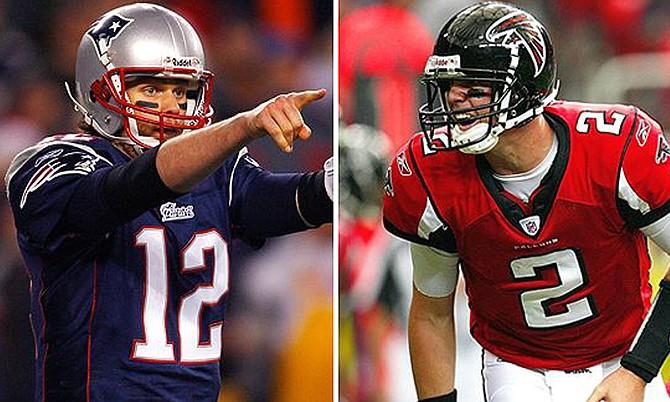 El más grande quarterback de la historia (Tom Brady) en contra del mejor quarterback del año (Matt Ryan). El Super Bowl puede ser muy cerrado