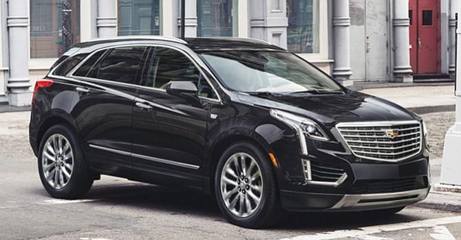Cadillac XT5 del 2017