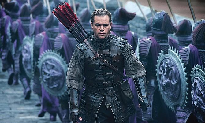 Matt Damon y Andy Lau protagonizan la nueva película de la Gran Muralla China en el siglo XV