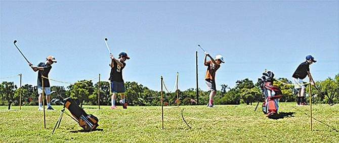 Academia para pequeños golfistas