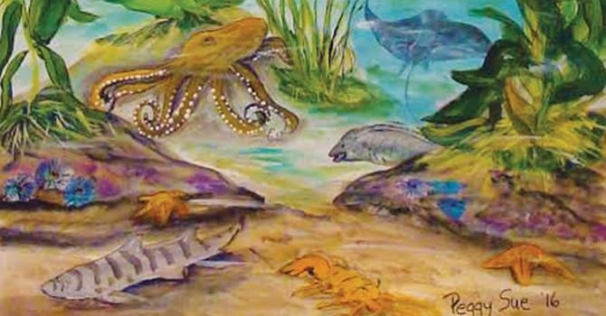 Artistas buscan concientizar sobre la vida marina local