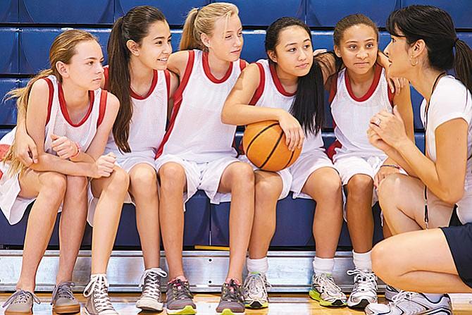 Baloncesto escolar  en la secundaria LBJ