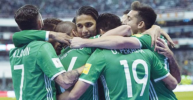 A un paso de calificar la selección mexicana de fútbol sóccer