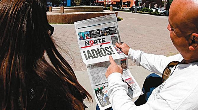 Cerró 'El Norte'  de Ciudad Juárez