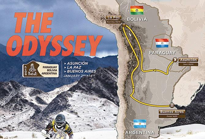 Dakar celebrará 40 años
