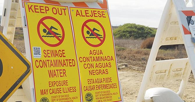 Reportan que alcanzó 256 millones de galones el derrame de Tjuana a San Diego
