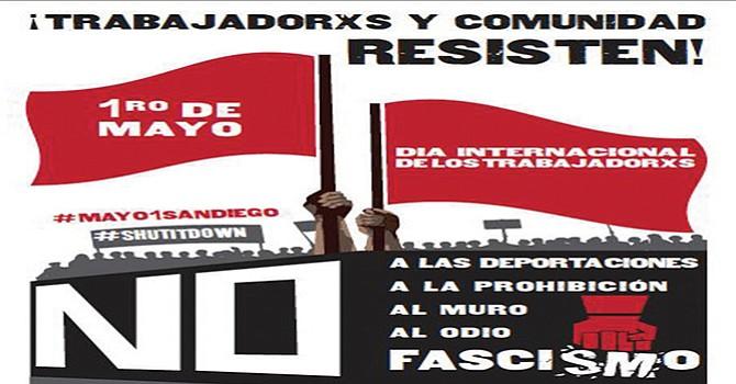 Convocan a la marcha del Primero de Mayo contra la política de migración