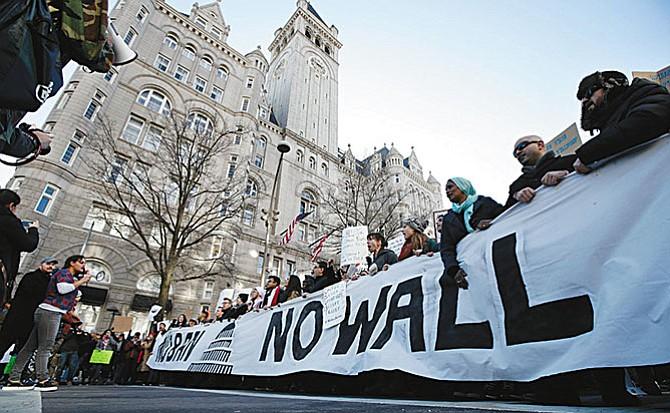Congreso de la Unión negó fondos para muro fronterizo