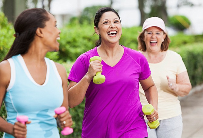 Caminar te mantiene sano