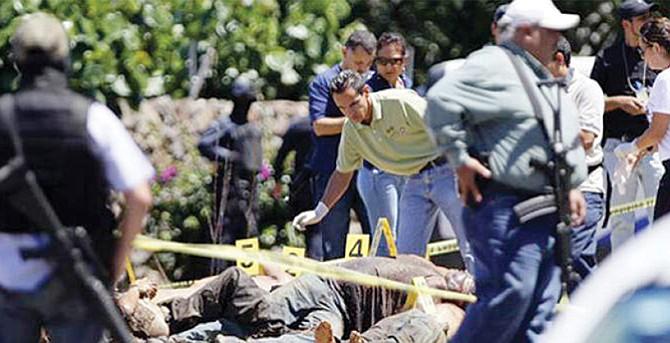 El país más sangriento de Latinoamérica