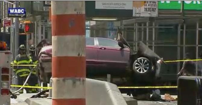 Atropella irresponsable conductor a decenas de personas  en Manhattan; 1 muerto y más de una decena de heridos
